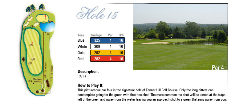 Fenner Hill Golf Course Hole 15