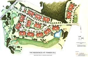 Fenner Hill Residences Landscape Rendering