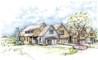 Fenner Hill Residences Rendering Front